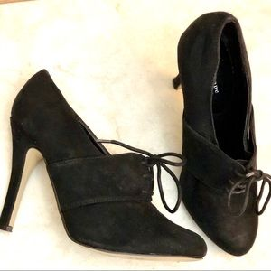 Forever 21 Twentyone Suede Heeled Booties| Sz. 7